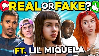 Can YOU Tell What's Real Or Fake? (ft. Lil Miquela)