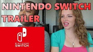 First Look at Nintendo Switch (Reaction)