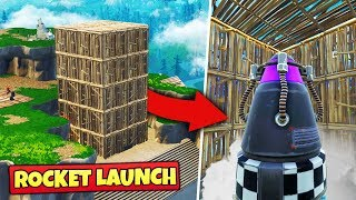 We Tried To STOP THE ROCKET LAUNCH - Fortnite Battle Royale