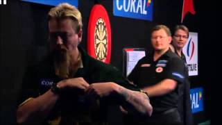 Wade celebrates after comeback against Whitlock at Coral Masters