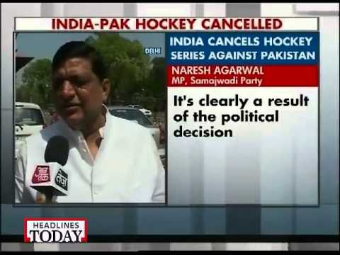 Govt cancels upcoming India-Pakistan bilateral hockey series