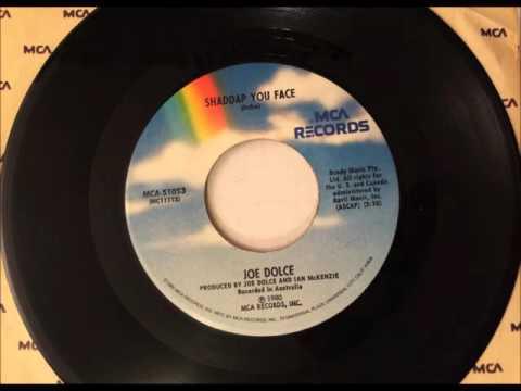 Shaddup You Face , Joe Dolce , 1981 Vinyl 45RPM