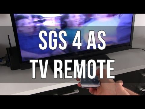 Samsung Galaxy S4 Watch ON TV App and remote control features