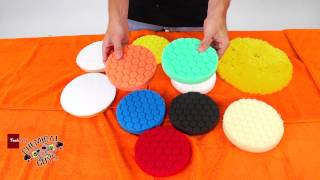 Polishing & Buffing Pads - Choosing The Correct Polishing Pad - Chemical Guys CAR CARE