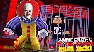 Minecraft Adventure - IT THE CLOWN THREATENS TO KILL JACK!!