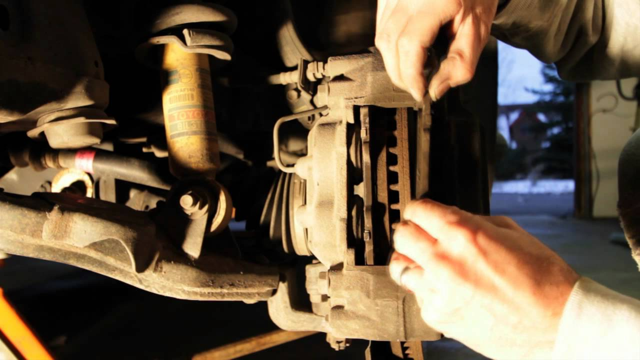 how to tell if front brakes need replacing