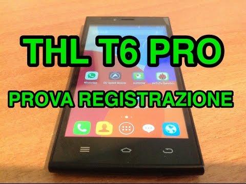 THL T6 Pro - prova video in FullHD