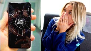 'Shattering' My iPhone X in Front of People