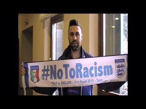 #NoToRacism - Italy vs England - Salvatore Sirigu