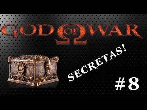 God Of War 1 Walkthrough #8 HARD Urnas Secretas!