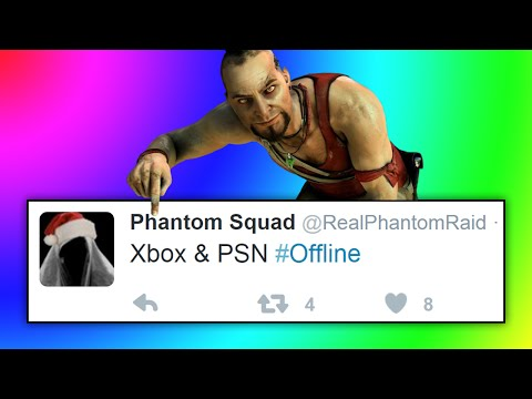 Xbox Live & PSN ATTACKS BEGIN TOMORROW? Xbox & PSN Servers Going Down & OFFLINE FOR 6 DAYS!