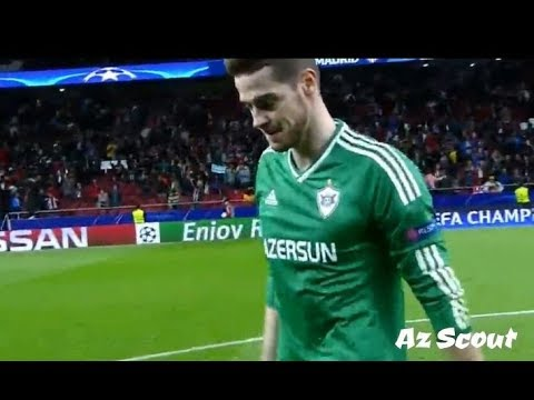 Ibrahim Šehić vs Atletico Madrid (Away) 31/10/2017 HD by Az Scout