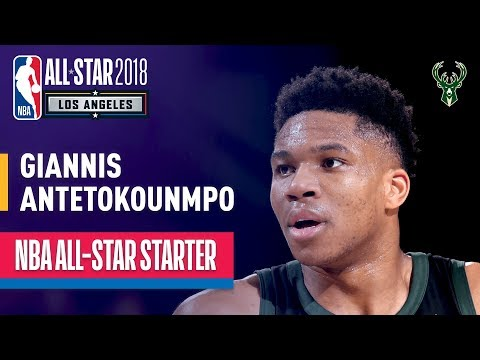 Giannis Antetokounmpo 2018 All-Star Starter | Best Highlights 2017-2018