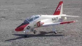 RC T-45 EDF Jet Short Flight