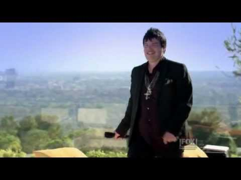 jason brock sings fergie on X factor recap judges home