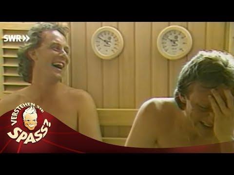 Sauna im Hotel mit Angelika Milster - Verstehen Sie Spass