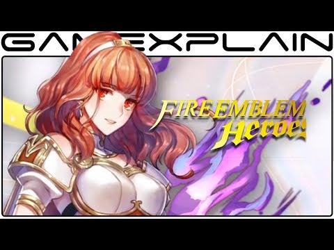Fire Emblem Heroes - New Heroes Trailer (Fallen Heroes)
