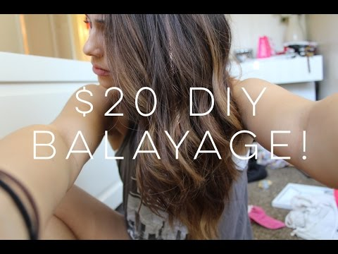 How To: EASY and CHEAP DIY Balayage!!