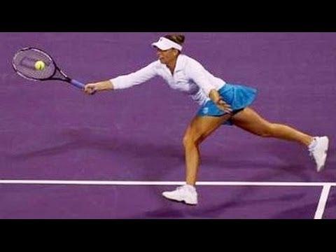 Vera Zvonareva vs Ana Ivanovic YEC Doha 2008 Highlights
