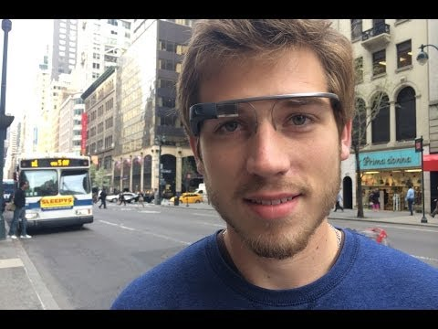 A Day in New York with Google Glass