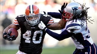 Peyton Hillis Dominates The Patriots Defense in 2010! | NFL Flashback Highlights