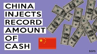 🇨🇳China Central Bank Just Injected RECORD Amount of Money Into Markets To Prevent COLLAPSE!