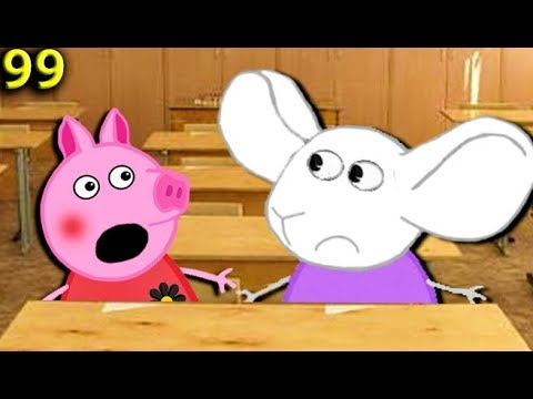 Мультики Свинка пеппа огромные уши Мультфильмы для детей на русском