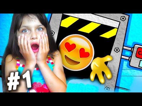 5 НОЧЕЙ С ЭМОДЖИ #1 ОНИ ВЕРНУЛИСЬ за МНОЙ Челлендж 5 НОЧЕЙ С ПОНИ приключения видео для детей kids