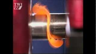 Linear friction welding
