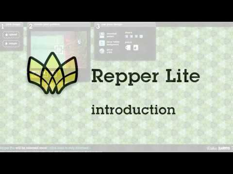 Repper Lite Introduction | pattern creator