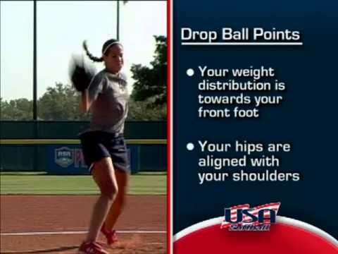 Pitching - The Rise. Drop and Curve