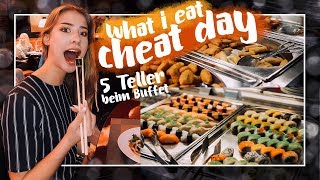 🍔🍟WHAT I EAT IN A (CHEAT-) DAY - FULL DAY OF EATING // JustSayEleanor (Food Diary, Ernährung)