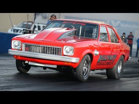 V8 twin turbo Holden Torana wins Radial Outlaw - Bullivant Racing