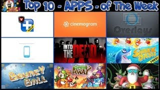 #200 APPS and GAMES - Top 5 Apps & Top 5 Games of The Week - Cinemagram Party Dash