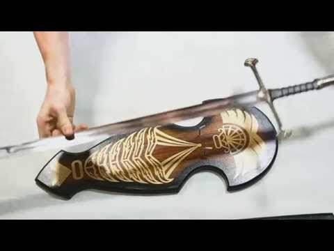 Lord Of The Rings Anduril Sword - Demonstration