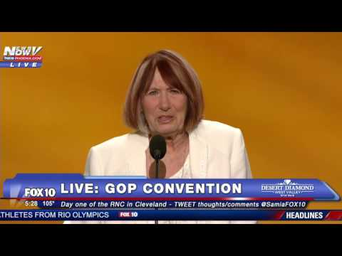 "EMOTIONAL: Mother of Man Killed in Benghazi Speaks at GOP Convention - ""I Blame Hillary Clinton"""