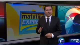 Temblor 18 abril 2014 Foro TV Mexico D. F.  (sismo de magnitud 7.2 a las 9:27 AM)