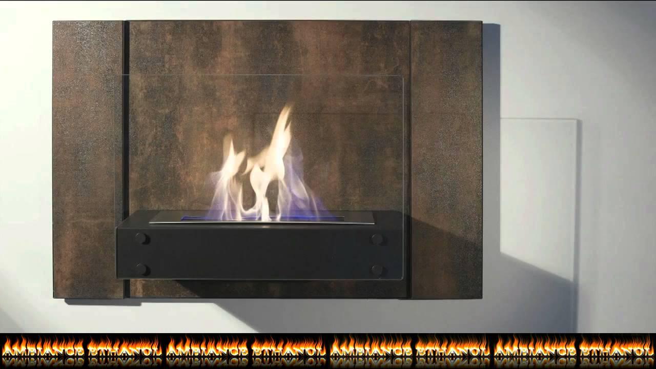 Pr sentation d 39 une chemin e murale au bio thanol mod le fuego youtube - Cheminee bio ethanol murale ...