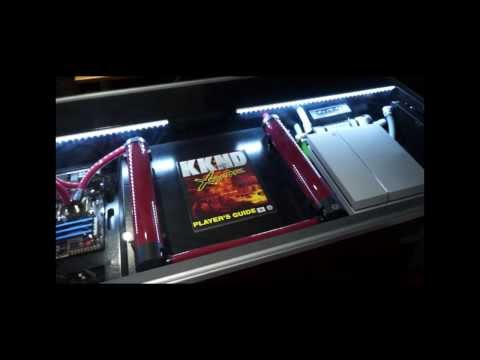 My Red Harbinger PS4/PC Liquid Cooled Cross Desk