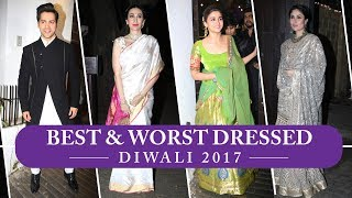 Kareena Kapoor Khan, Alia Bhatt, Sara Ali Khan: Best and Worst Dressed of Diwali 2017