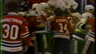 Chicago-Minnesota Bench Clearing Brawl 3/21/83 (not the usa broadcast)