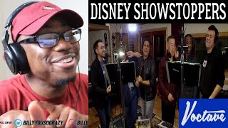Voctave - Disney Showstoppers Medley REACTION!