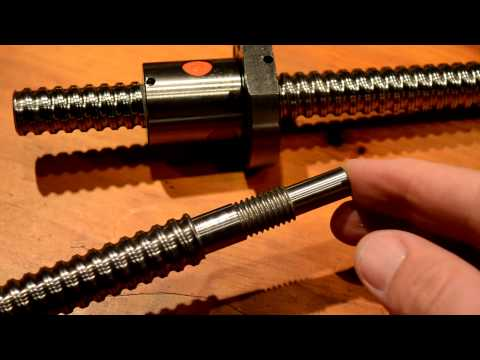 linearmotionbearings2008 Ballscrew/Nut Overview