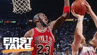 Is Bill Laimbeer Still Bitter About Losing To Michael Jordan?   First Take   May 26, 2017