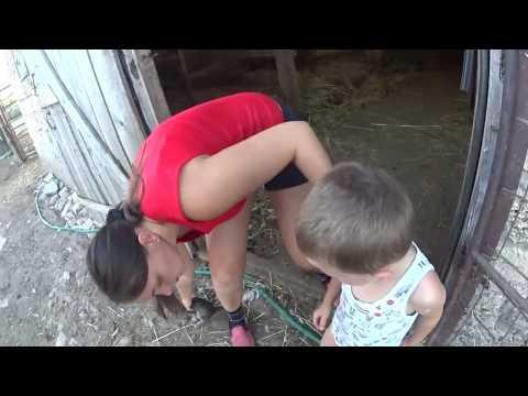 ✅👉Будни деревенщины // ВЕЧЕР // Как живёт обычная деревенская семья