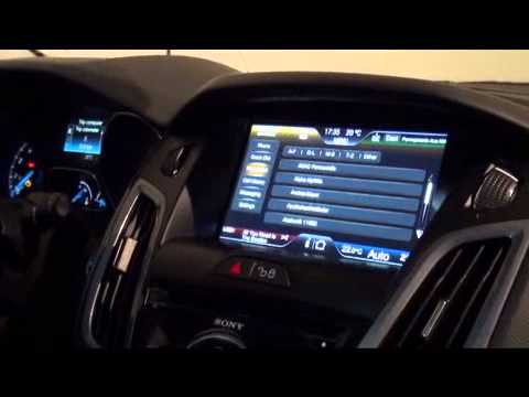 Ford Focus Sync video demo
