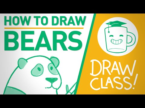 Dead Bear Drawing How to Draw Bears Draw Class