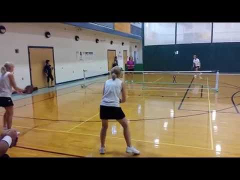 Pickleball Maine tournament Oct 2014 Part 1