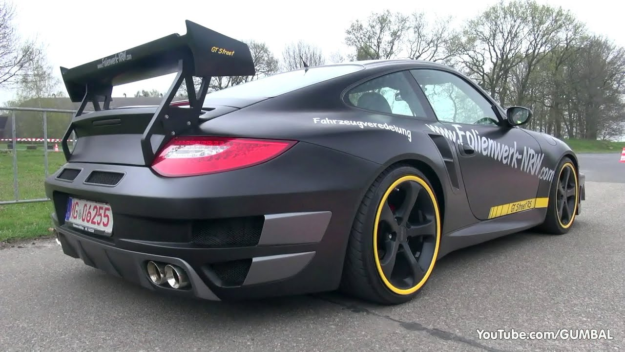 Modified Porsche 996 Turbo W Aftermarket Exhaust Sound