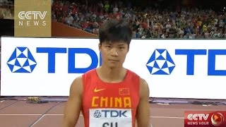 Su Bingtian: first-ever Asian to reach 100M Finals in IAAF championships